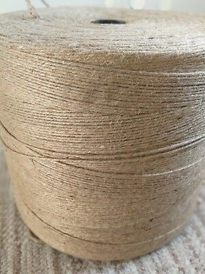 2Ply Rustic Natural Jute Hessian Burlap Twine Craft Tag String Gift Ribbon Cord