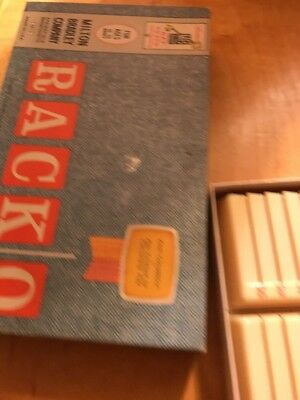 Racko Vintage Card Game 1992 Parker Brothers Missing Instructions