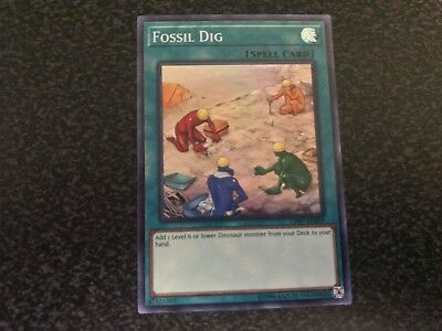 Fossil Dig Super Rare OP07-EN009 Near-Mint Unlimited Edition