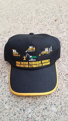 John Deere Dubuque Works Construction & Forestry Division Hat
