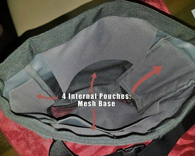 Metal Detecting Finds Bag The Catch-all Ultimate finds bag made by Grey Ghost