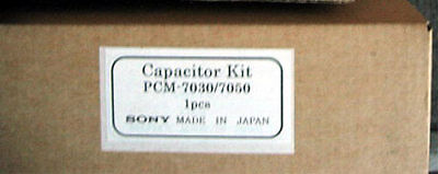Sony Capacitor Kit PCM-7030/7050 DAT genuine VCR VTR parts