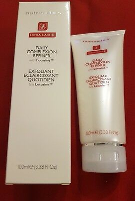 NUTRIMETICS DAILY COMPLEXION REFINER Brand New In Box ULTRA CARE+ Face exfoliant