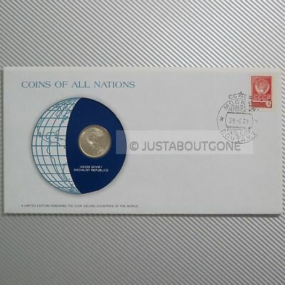 Soviet Union Ussr 20 Kopek 1978 Unc Fdc Coins Of All Nations Stamp Cover