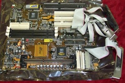 SiS BXPro PC100 AT Slot 1 motherboard - tested / working