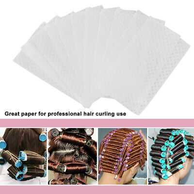 1000Pcs/Pack Professional Salon Perm Paper Disposable Hot Cold Hair Curling G4Q4