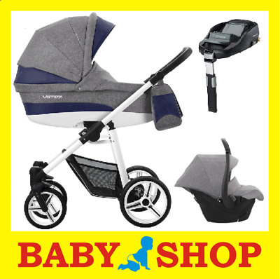 BEBETTO Vulcano S-Line 4in1 2018 Stroller Pushchair Sport seat FREE SHIPPING