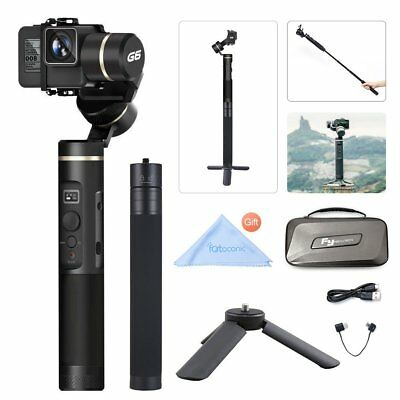 Feiyu G6 Gimbal Stabilizer WIFI Bluetooth W/ Extension Bar Tripod for Hero 6 5 4