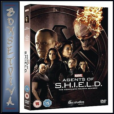 Agents Of Shield Complete Season 4 Marvel Agents Of S.h.i.e.l.d **brand New Dvd