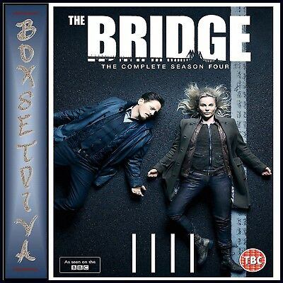 The Bridge Complete Season 4 - Fourth Season **Brand New Dvd