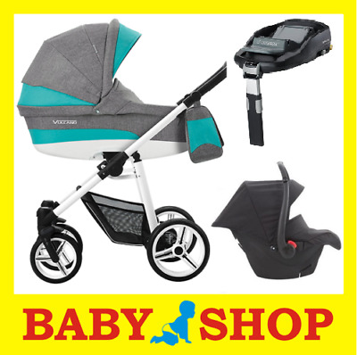 BEBETTO Vulcano S-Line 4in1 Stroller Pushchair Sport seat FREE SHIPPING