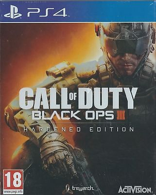 Ps4 Call Of Duty Black Ops Iii 3 Hardened Edition Play Station 4 (Pre Owned)