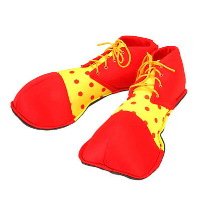 Clown Shoe Covers Adults Fancy Dress Costume Accessory Circus Unisex Fun boot