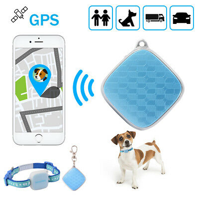 Mini GPS Tracker Pet Collar Real Time Locator Kid Elerly Dog Tracking Device