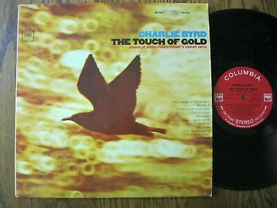 Charlie Byrd LP 1966 The touch of Gold EX stereo Columbia CS 9304