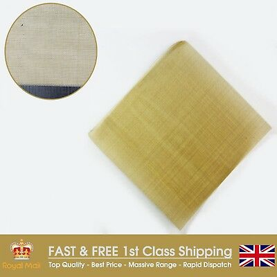 Fine #60 (0.26mm Hole x 0.16mm) Wire Brass Woven Mesh - 150mm Square