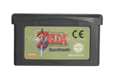 Nintendo GBA Video Game The Legend Of Zelda: A Link To The Past Four Swords