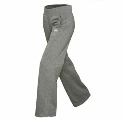 Nike Junior Girls Fleece Grey Pants.Nike Girls Tracksuit Bottoms. XL 13-15 Yrs