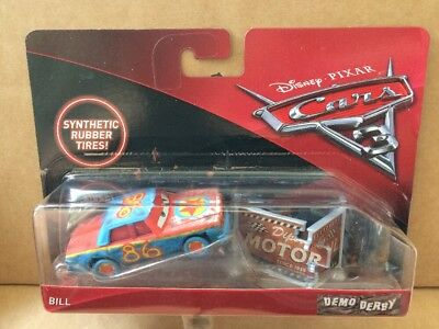 DISNEY CARS DIECAST - Cars 3 - Bill Demo Derby - Combined Postage