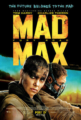 MAD MAX FURY ROAD MOVIE POSTER 1 Sided ORIGINAL Mini Sheet FINAL 11x17 TOM HARDY