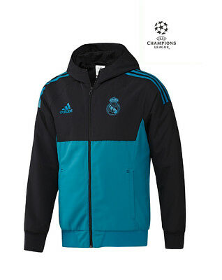 Real Madrid Adidas Jacke Training Training Jacke Präsentation Uefa 2017 1