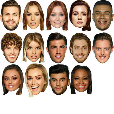 BUDGET RANGE #6 READY TO WEAR CELEBRITY FACE MASKS LOW PRICE! 30 TO CHOOSE