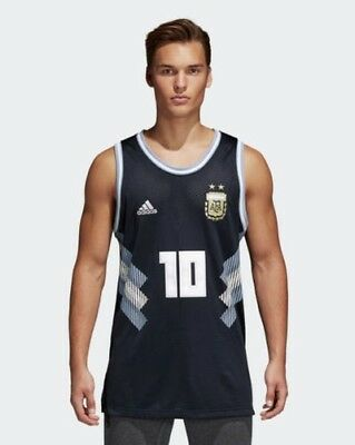 Argentina AFA Adidas Shirt Training tank top sleeveless Blau SSP Worldwide 201