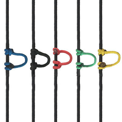 Archery Shooting Parts Ulimate Hunting Loop D Ring Bow for Compound Bow Colorful