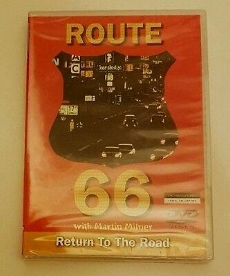 Route 66 with martin milner return to the road DVD