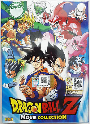 Anime DVD Dragon Ball Z 18 Movies Collection Box Set - BRAND NEW