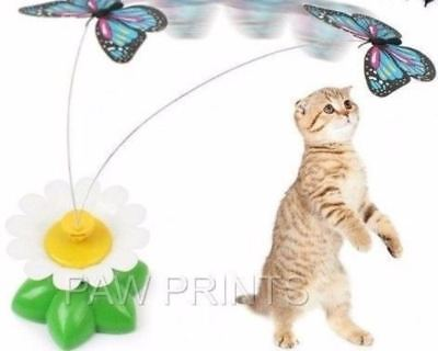 Good Girl Interactive Flower Chase Cat Toy Moving Butterfly