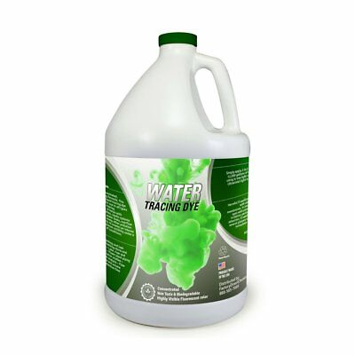 Green WATER TRACING & Leak Detection Flourescent DYE | Concentrated | Powerful