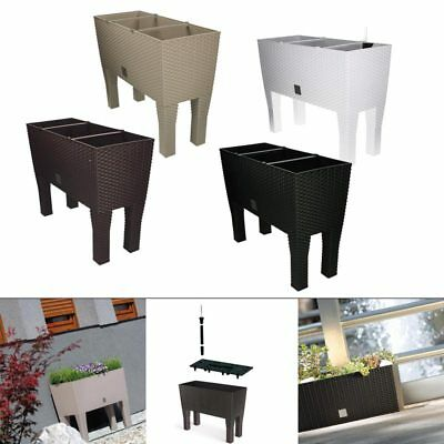 blumenkasten mit wasserspeicher blumentopf pflanzk bel. Black Bedroom Furniture Sets. Home Design Ideas