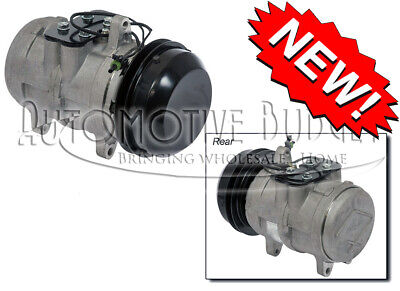 NEW AC A/C Compressor Fits: John Deere Tractors Windrowers W / Denso
