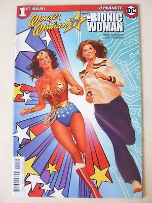 Wonder Woman '77 Meets The Bionic Woman. Issue # 1. First Printing - Dynamite/dc