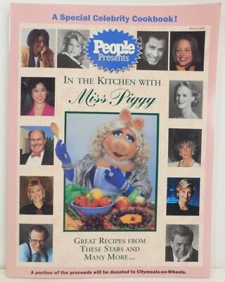 Vintage THE MUPPET TV SHOW In The Kitchen with MISS PIGGY COOKBOOK Cook Book