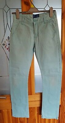 Blue Zoo boys turquoise trousers age 11