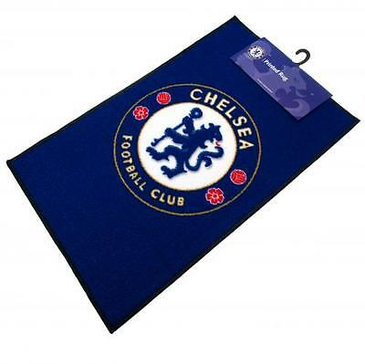 Chelsea FC Official Crested Bedroom Rug / Mat Size 80cm x 50cm Present Gift