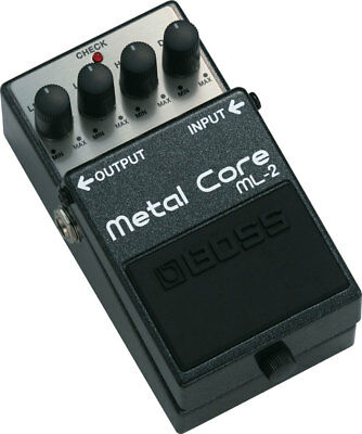 Boss ML2 Metal Core Distortion Pedal FREE PRIORITY SHIPPING!