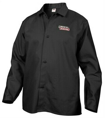 Part KH808XXL,Lincoln Electric Co,Extra Extra Large, Black, Welding Jacket, Flam