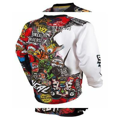 ONeal Mayhem Lite - Maillot manches longues Homme Crank Multicolore 2018 tee...