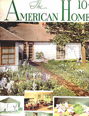 April 1941 The American Home Magazine-Architectural-Great Vintage Ads-Rare