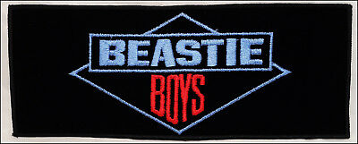 Beastie Boys 80's Large Embroidered Iron-On Patch