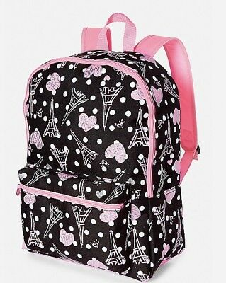 Justice Paris Backpack- New!full Size Perfect For school-lunch Tote Too! 🌸🌸🌸