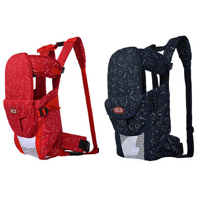 Baby Carrier Backpack Front and Back Ergonomic Soft Structured Sling Adjustable
