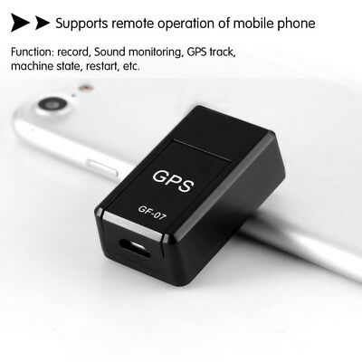 Mini Magnetic GSM GPRS Spy Portable Locator Real Time Personal / Car GPS Tracker