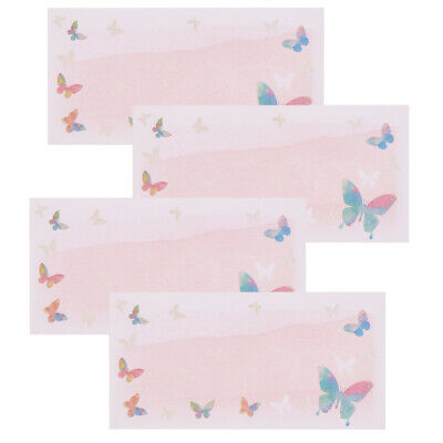 4 Pcs DIY Envelopes Colored Pearl Blank Paper Envelope Invitation Envelope