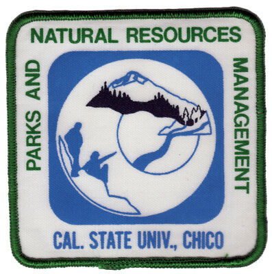 Patch  - Parks And Natural Resources Management - Cal. State Univ., Chico