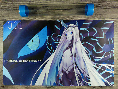 DARLING in the FRANXX 001 YuGiOh Custom Playmat TCG Mat Free High Quality tube