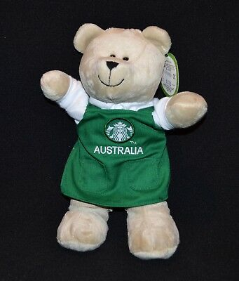 Starbucks Coffee Company Bearista Bear Australian Edition Collection 2015